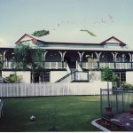 The house where Booknook Blue began